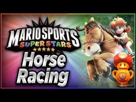 Mario Sports Superstars - Part 1 | Horse Racing - Mushroom Cup!