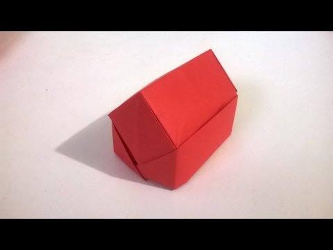 Como hacer una casa de papel origami facil de hacer youtube - Como hacer jarrones de papel ...
