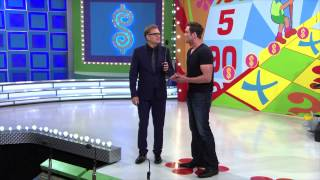 The Price Is Right - Drew Carey chats with Actor Daniel Goddard