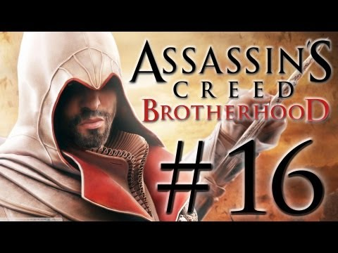 Assassin's Creed Brotherhood Walkthrough: Part 16 - The Key To The Castello - [HD]