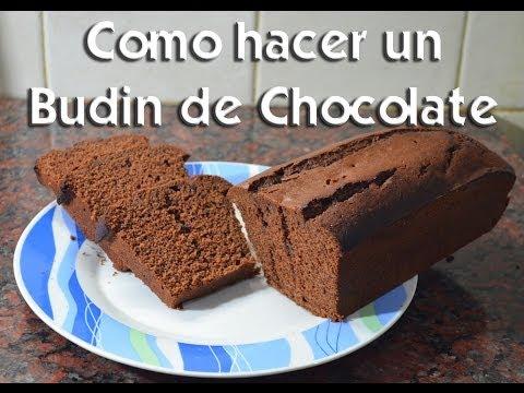 Como hacer un budin de chocolate youtube for Como cocinar un bogavante