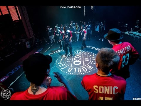 France vs China - Popping - KOD Street Dance World Cup 2016