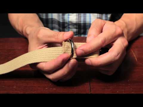 DIY Webbing Tutorial on a Budget, Part 5: Putting It All Together