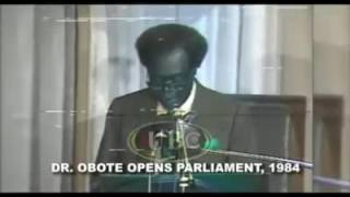 Video Dr. Milton Obote while opening the 1984 parliament download MP3, 3GP, MP4, WEBM, AVI, FLV September 2018
