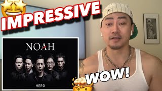 This is on my PLAYLIST! NOAH - HERO (Official Music Video)   New Yorker FIRST TIME REACTION