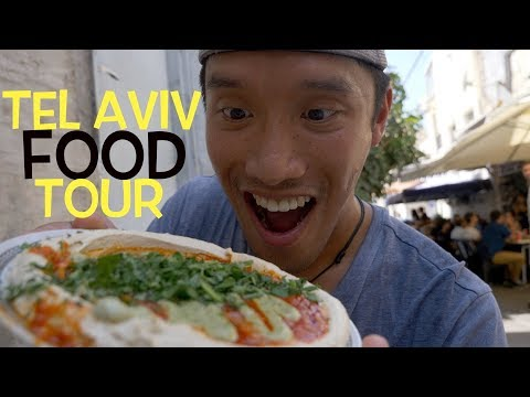BEST Tel Aviv FOOD TOUR (Best Of Israel) - Vlog #127