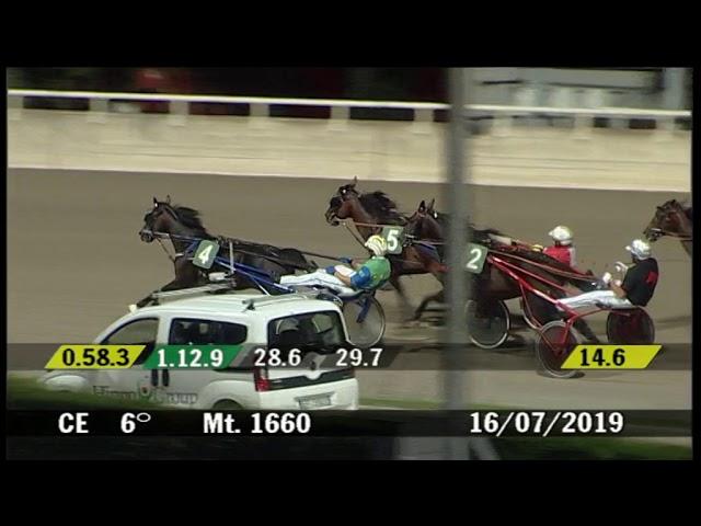 2019 07 16 | Corsa 6 | Metri 1660 | Premio Ass.Alberg.Cesenatico / Federalb