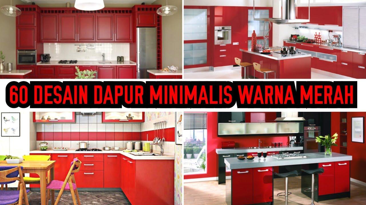50+ Ide Desain Dapur Nuansa Merah HD Terbaik Unduh Gratis