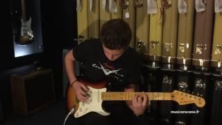 Gambar cover Fender Custom Shop 59' Earlier Stratocaster Relic démo Music en Scène SN: R77830