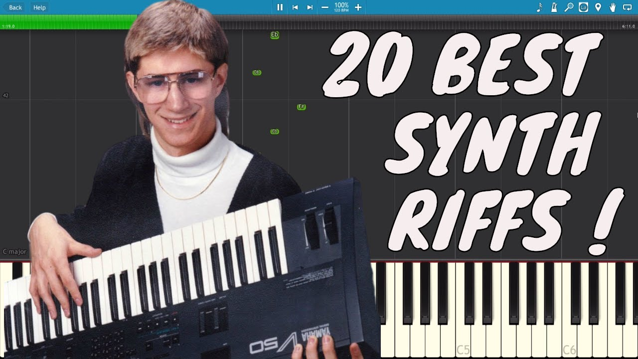 the 20 best keyboard riffs of all time and how to play them youtube. Black Bedroom Furniture Sets. Home Design Ideas
