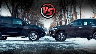 2hp:Toyota Land Cruiser Prado VS Mitsubishi Pajero Sport