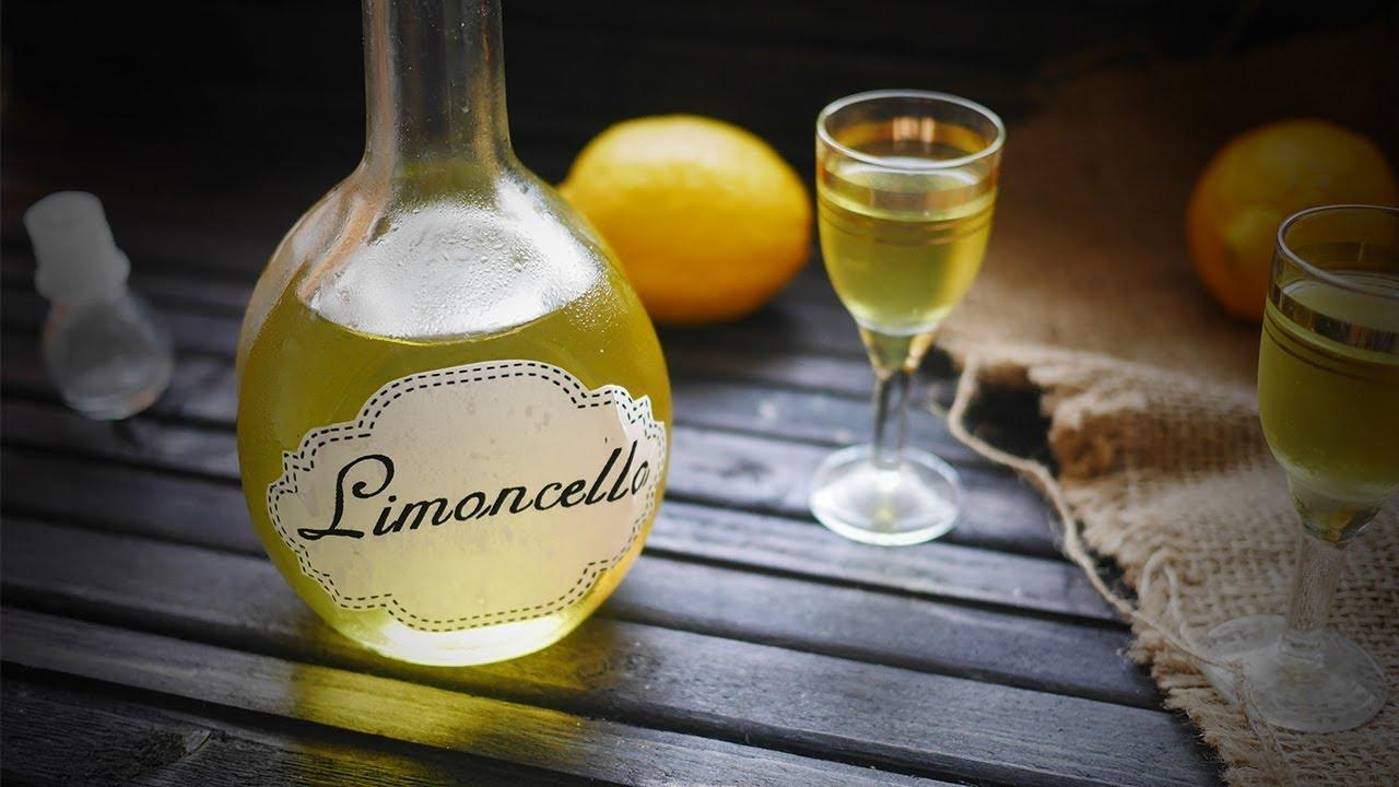 как приготовить лимонный ликер на водке