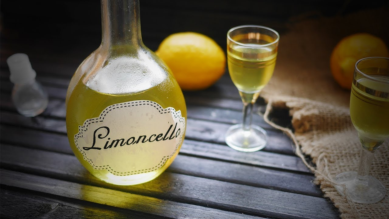 рецепты лимончело с водки