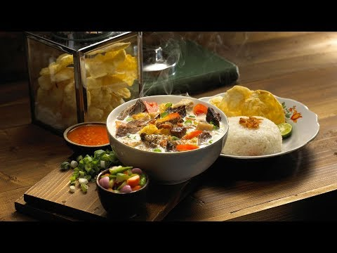 Soto Bakal Jadi Makanan Nasional Indonesia Youtube