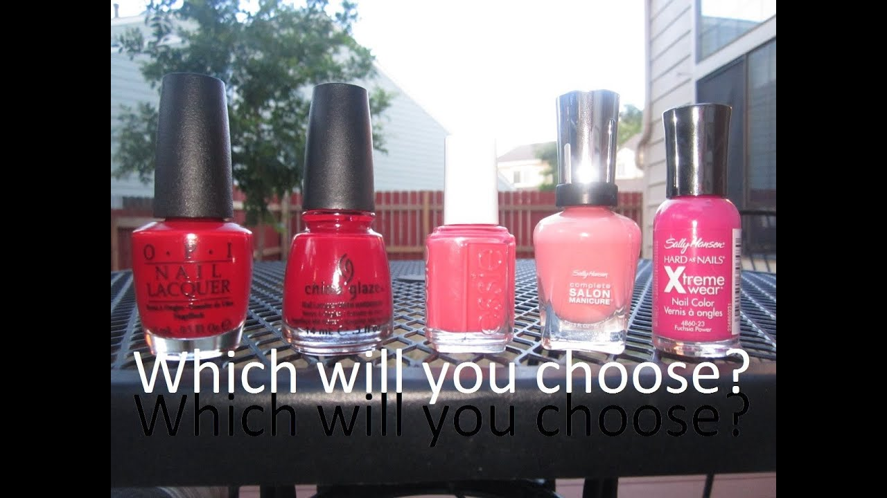 What nail polish brand is best for me? OPI vs. China Glaze vs. Essie ...