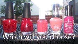What nail polish brand is best for me? OPI vs. China Glaze vs. Essie vs. Sally Hansen
