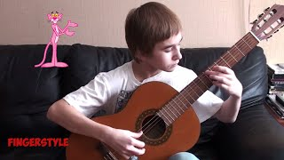 The Pink Panther Theme - Fingerstyle Guitar Cover - Colin Reid