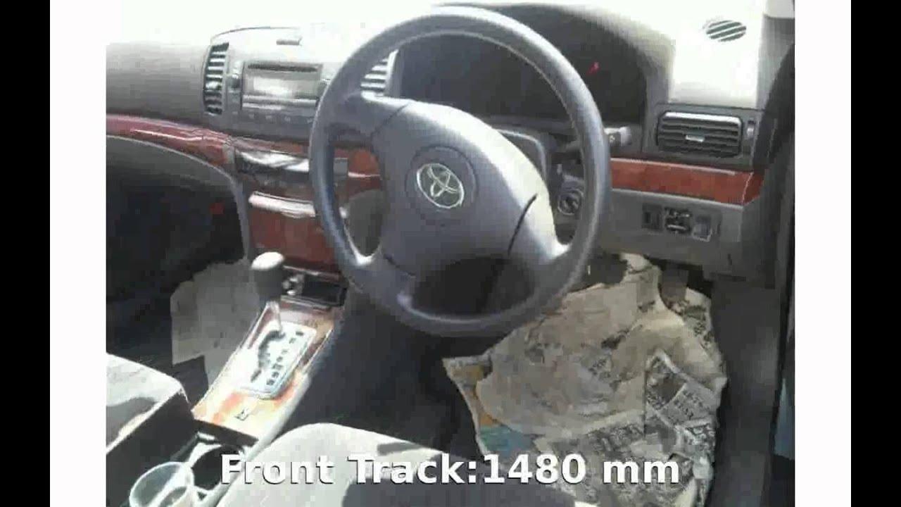 2006 Toyota Allion A20 Details Info Youtube