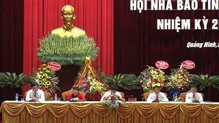 Đại hội lần thứ VIII Hội Nhà báo tỉnh Quảng Ninh nhiệm kỳ 2019 - 2024