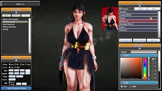 Street Fighter and Dead or Alive chars on jap ero game Honey Select