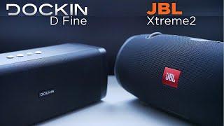 DOCKIN D Fine | JBL XTREME 2 | Klangtest | deutsch | 2018