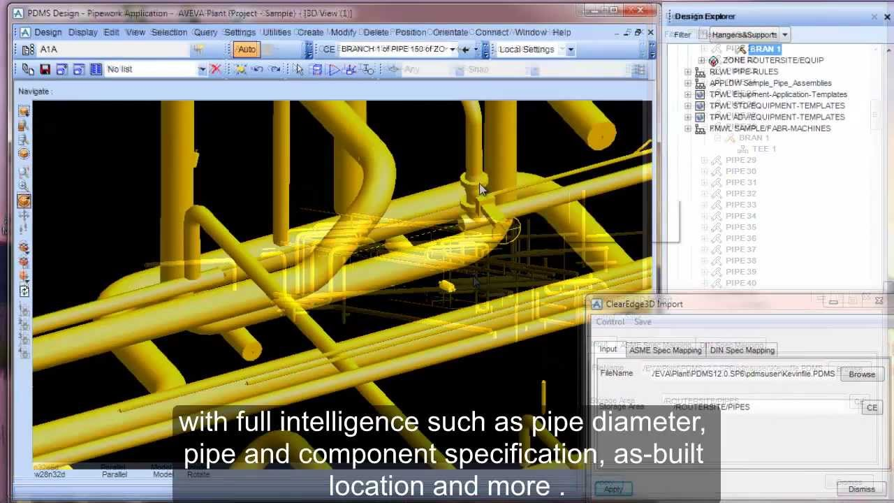 PDMS Plug-in Training Video