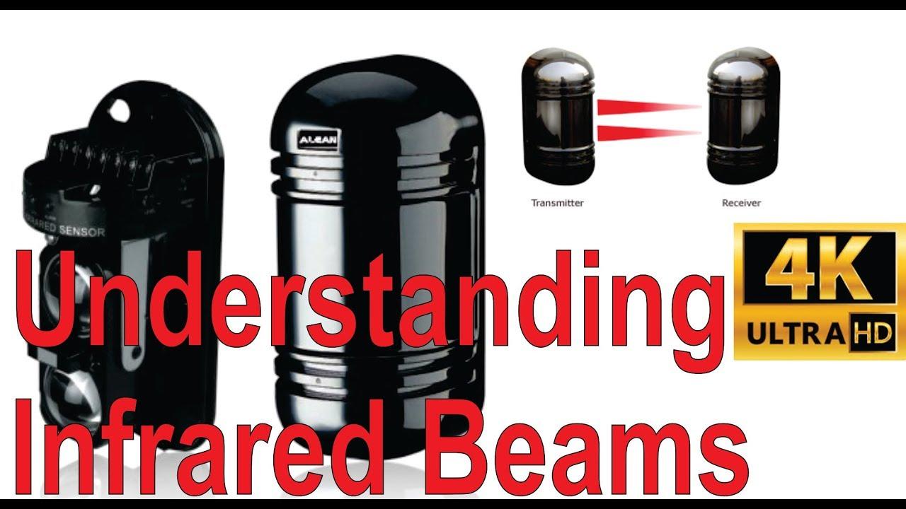 Understanding active infrared beams (detectors) on