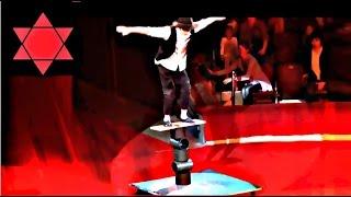 Circus. The equilibrist. Цирк. Эквилибрист.