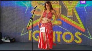 Una Shakira policía llegó a Yo Soy para alborotar a todo Iquitos