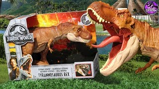 Extreme Chompin' T-Rex!!   Jurassic World: Fallen Kingdom   Toy Review