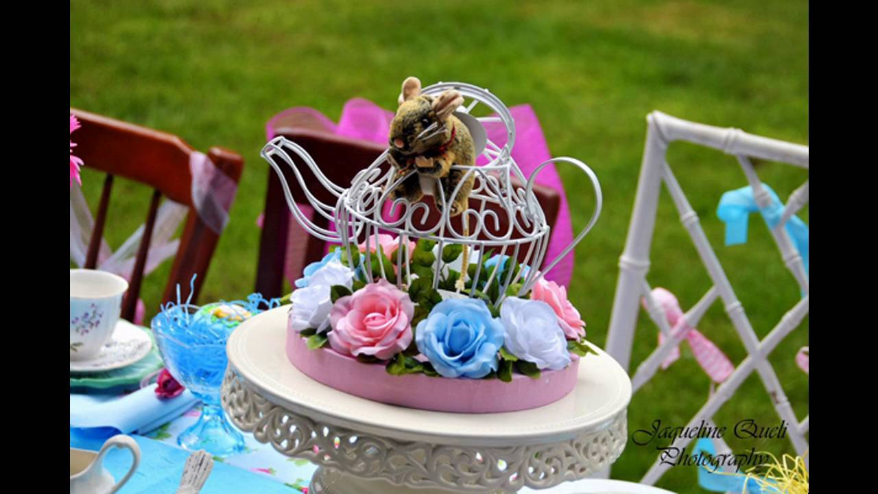 Alice In Wonderland Party Decoration Ideas Youtube