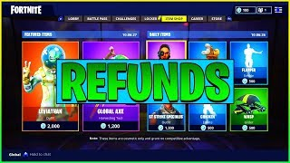 Fortnite Skin Refund // How To Return Request A Fortnite Skin Return - Fortnite Update