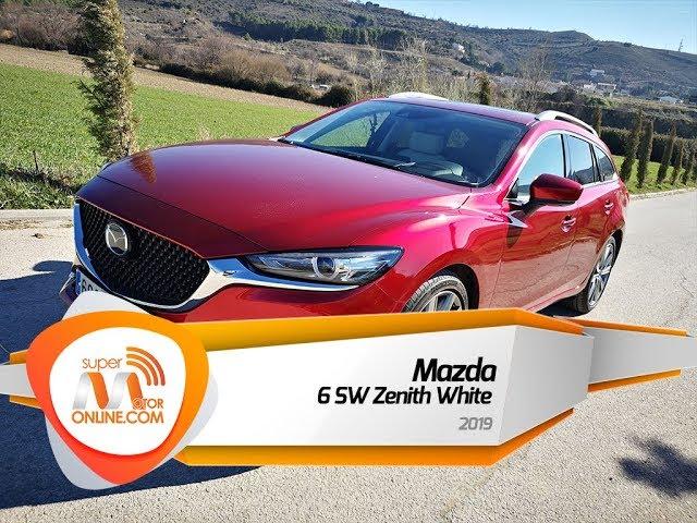 Mazda 6 SW 2019 / Al volante / Prueba dinámica / Review / Supermotoronline.com