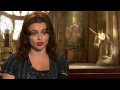 "Alice Through the Looking Glass: Helena Bonham-Carter ""Iracebeth"" Behind the Scenes Interview"