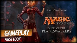 Magic 2014 Duels of the Planeswalkers - Most Popular Trading Card Game Gameplay (Commentary)