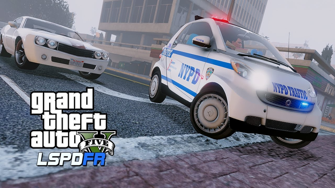 Gta Lspdfr Foggy And Smart Lspdfr Police Patrol In An