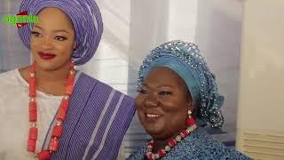 OONI OF IFE WIFE NAOMI OGUNWUSI IN ANOTHER GRAND STYLE