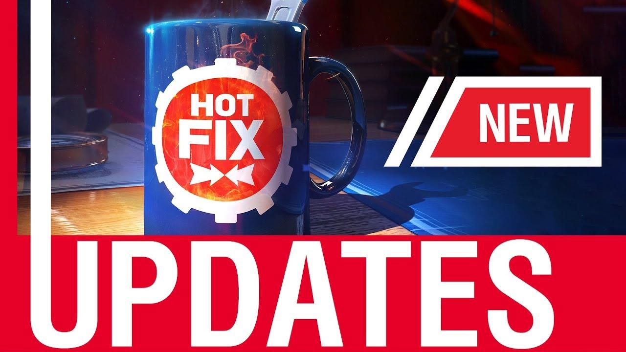 World of Warships – Hot Fix: Updates!