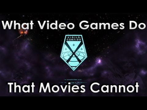 What Video Games Do That Movies Cannot - Game Study