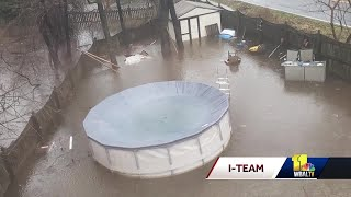 Severn man fed up with flooded yard