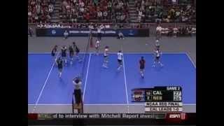 Nebraska vs Cal Volleyball 2007 Set 2