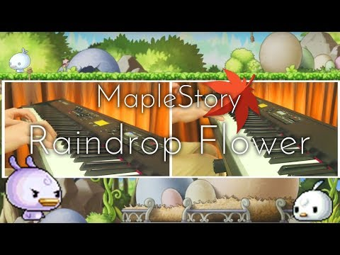 "SLSMusic|楓之谷 - 耶雷弗|Raindrop Flower / Maplestory ""Ereve"" - Piano Cover"