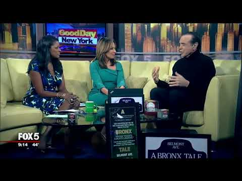 "Chazz Palminteri Interview on FOX 5 Featuring ""A Bronx Tale"" Memorabilia Collection"