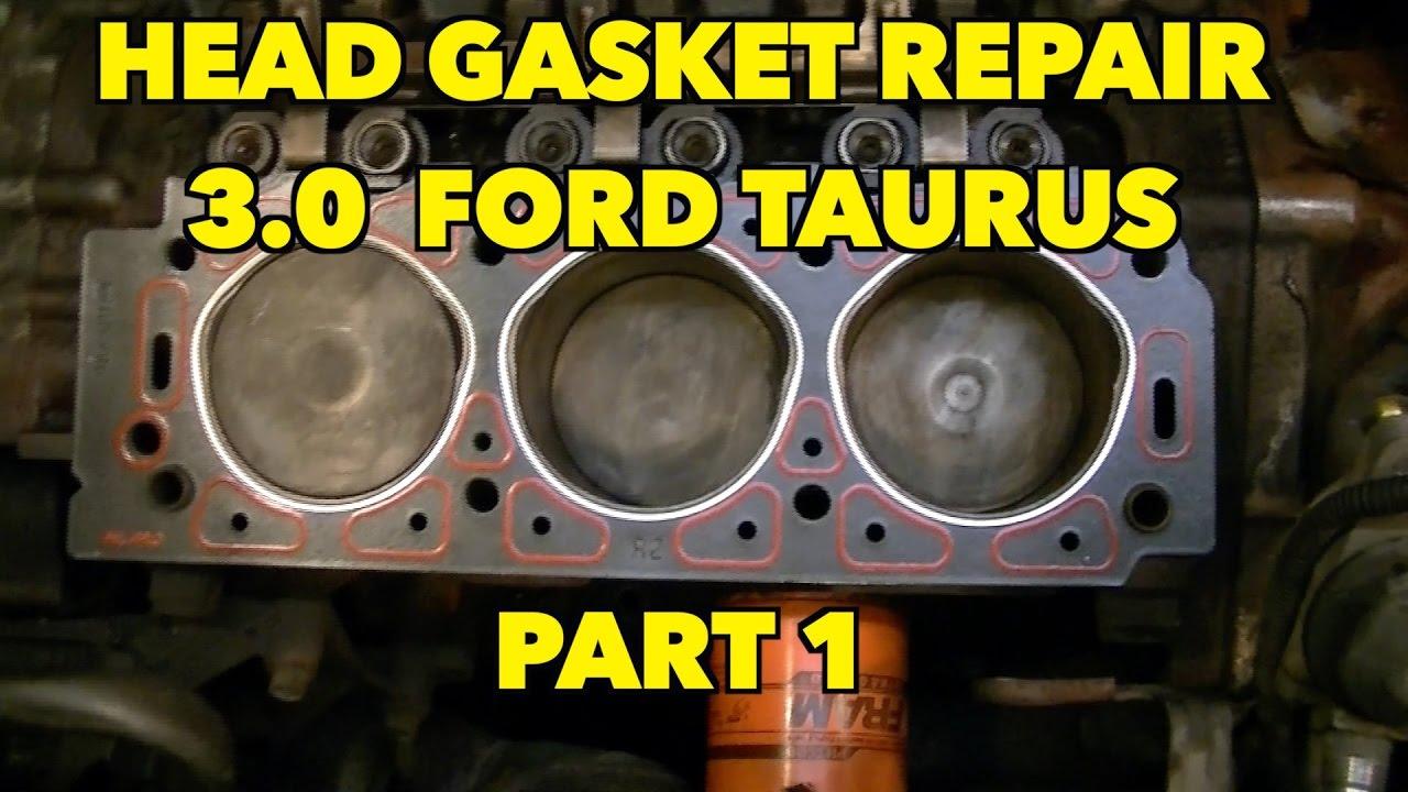 2000 Ford Taurus Flex-fuel 3 0 Head  Gasket Job