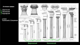 видео Античные архитектурные ордера