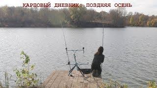 Секреты рыбалки на карпа поздняя осень Прикормка оснастка тактика Ловля в очень холодной воде