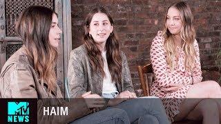 HAIM Talk About Their Documentary, 'HAIM: Behind the Album' | MTV News