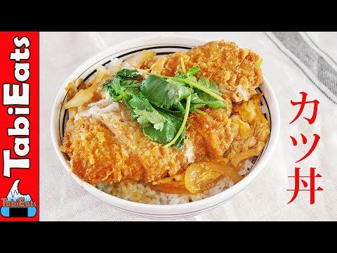 How to Make KATSUDON-Pork Tonkatsu Rice Bowl RECIPE