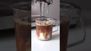 바닐라라떼 만들기   vanilla latte   홈카…