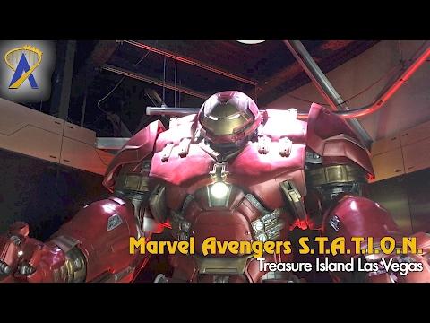 Marvel Avengers S.T.A.T.I.O.N. Tour at Treasure Island in Las Vegas